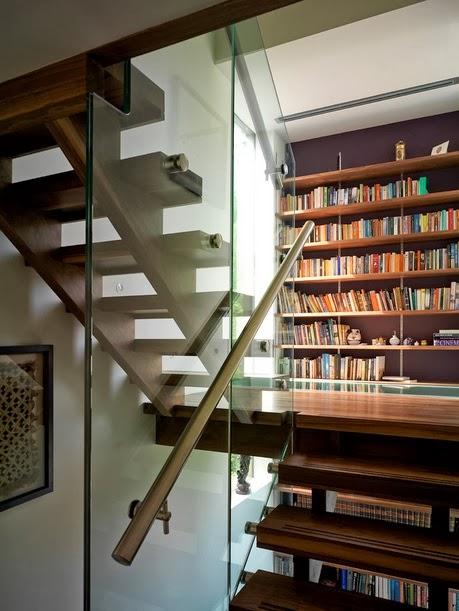 merdiven kitaplık