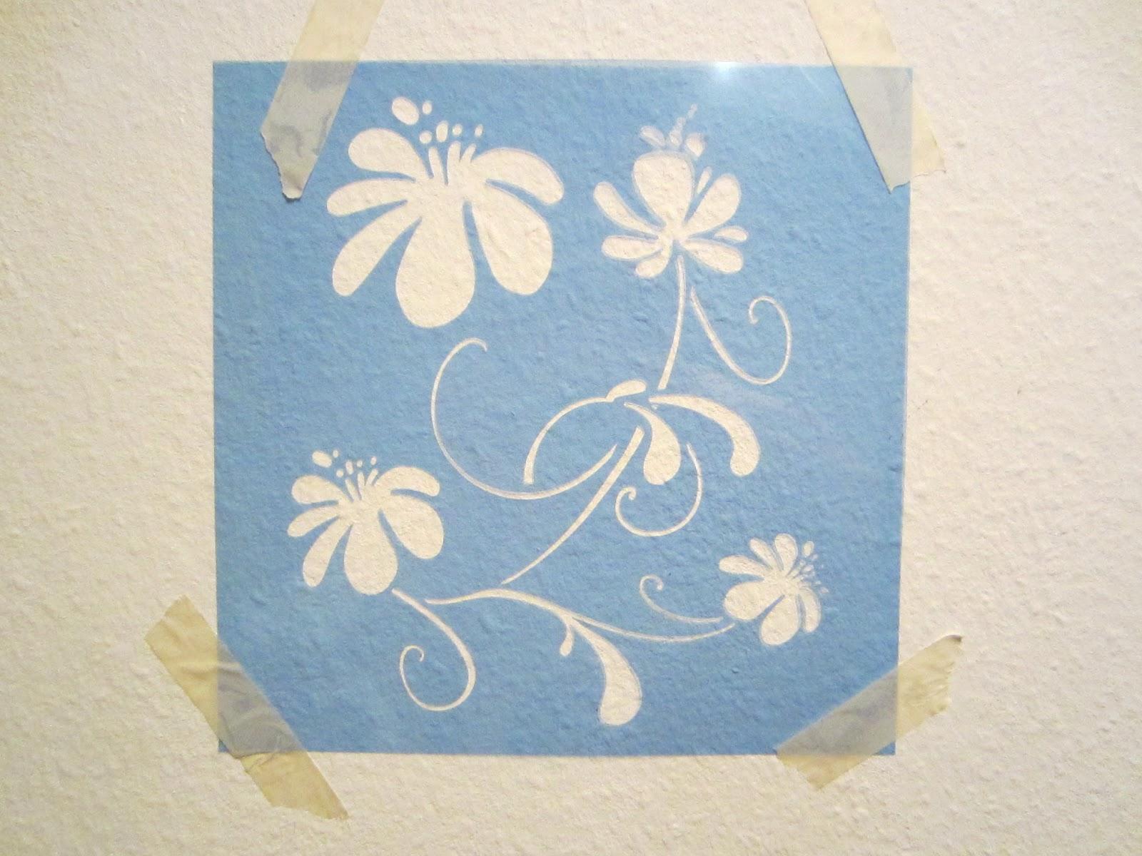 Wand Muster Schablonen