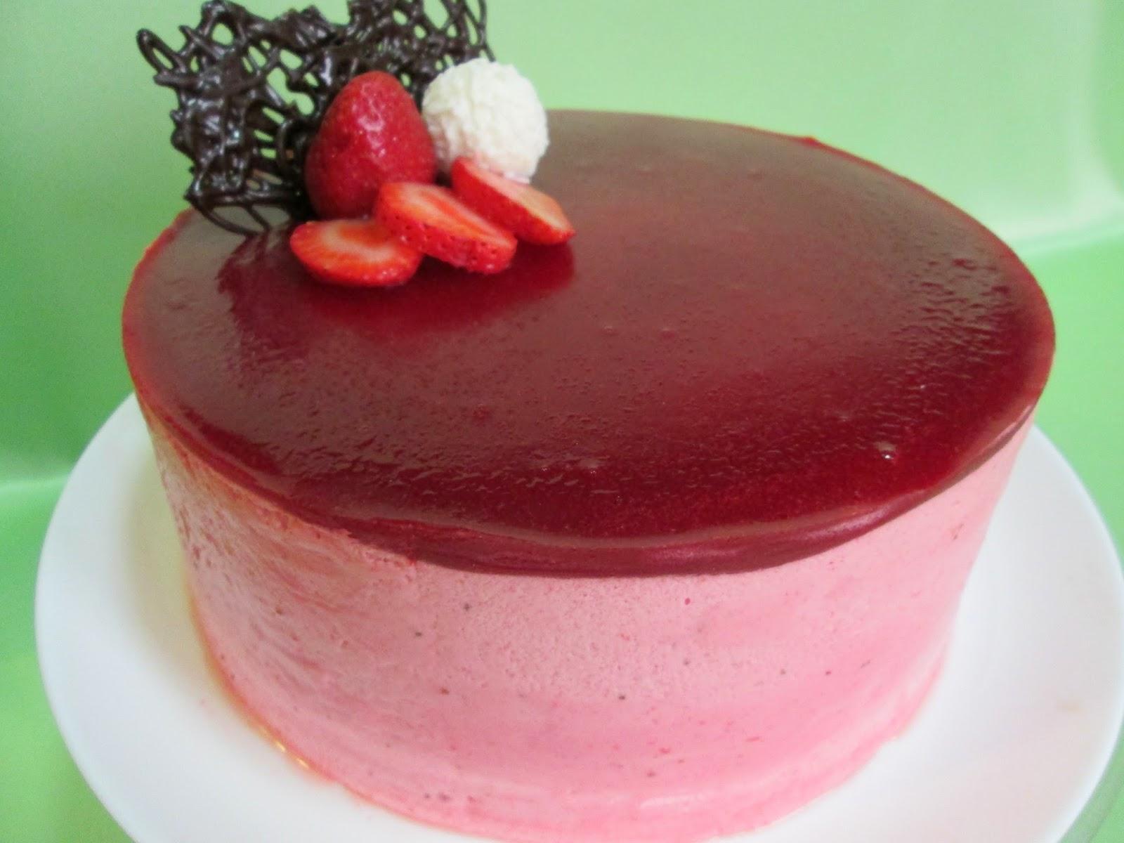 Merengue y fresa tarta mousse de fresas y yogurt - Mouse de yogurt ...