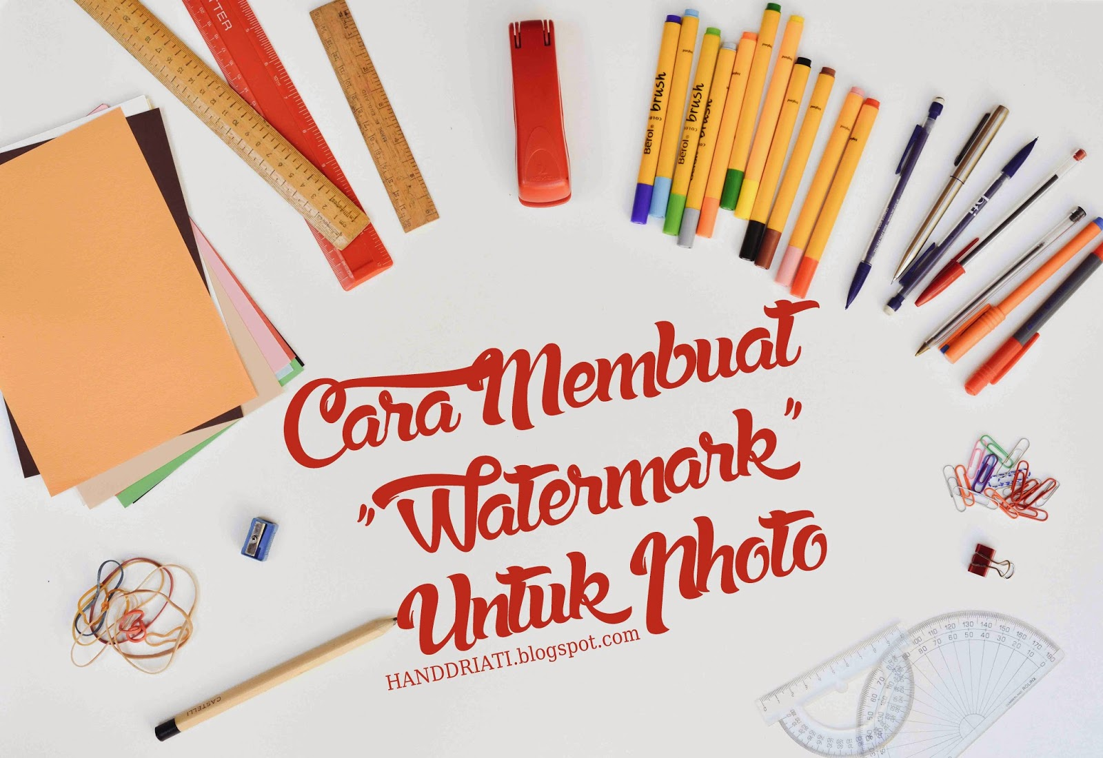 Cara Membuat Watermark dan Copyright Untuk Photo_How to Add Watermark and Copyright to Image