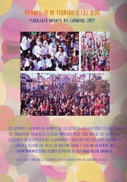 Programa Carnaval La Carolina 2015