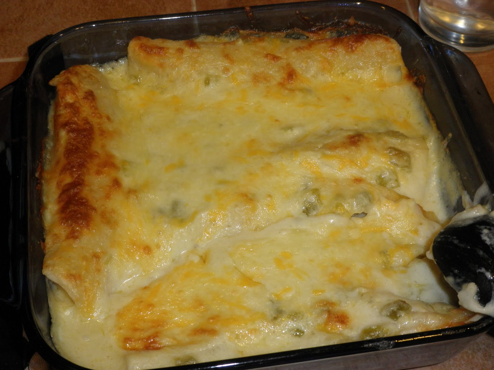 chicken enchiladas with cream cheese and cream of chicken soup