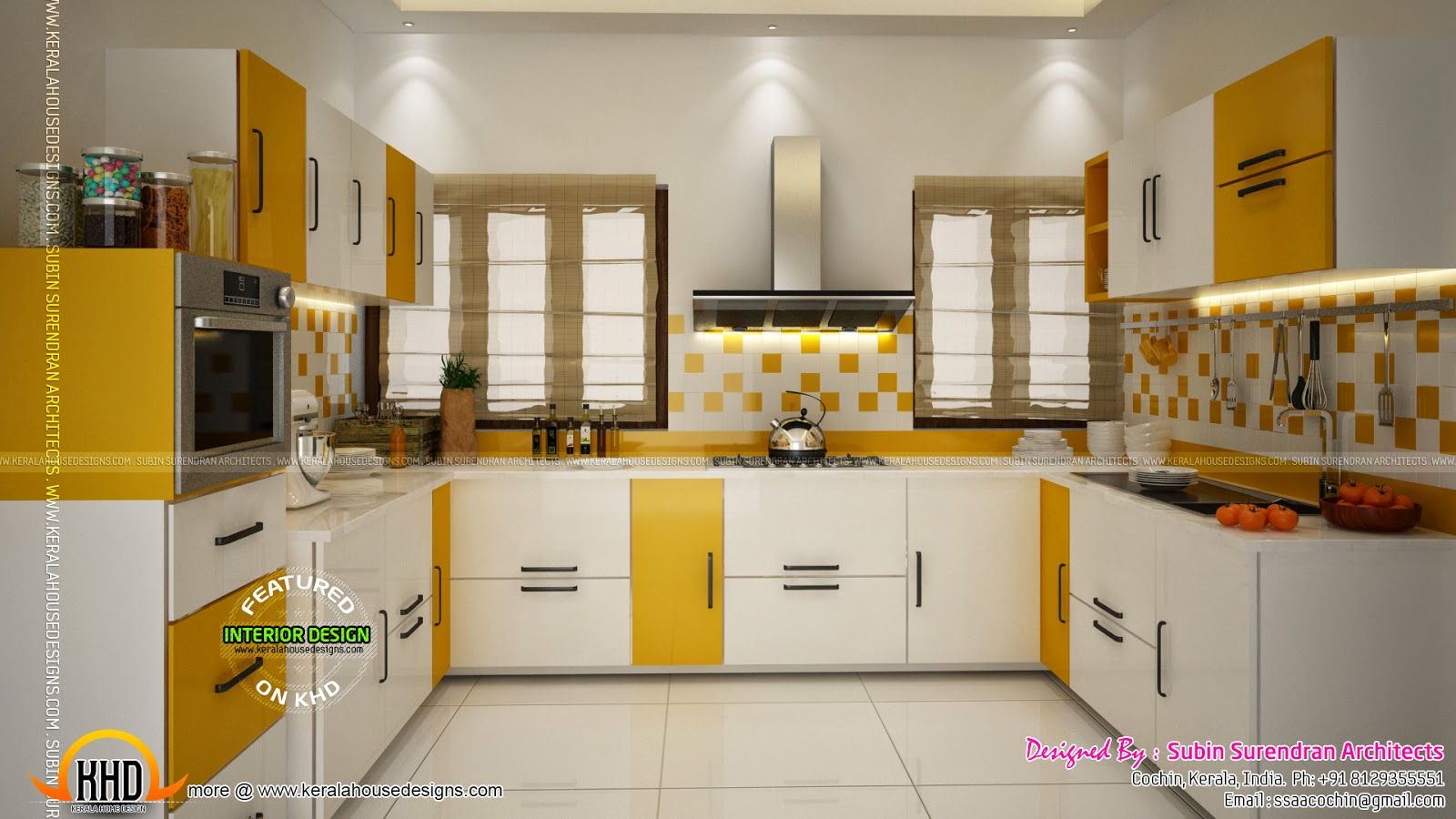 Kerala style low cost double storied home keralahousedesigns for New kitchen designs in kerala