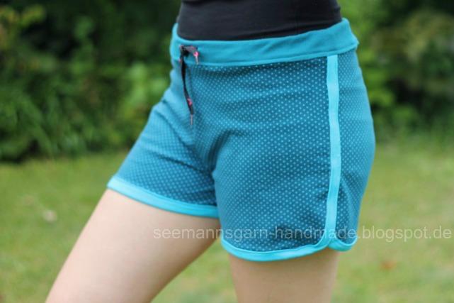 Sommer-Shorts aus Jersey • Seemannsgarn - handmade