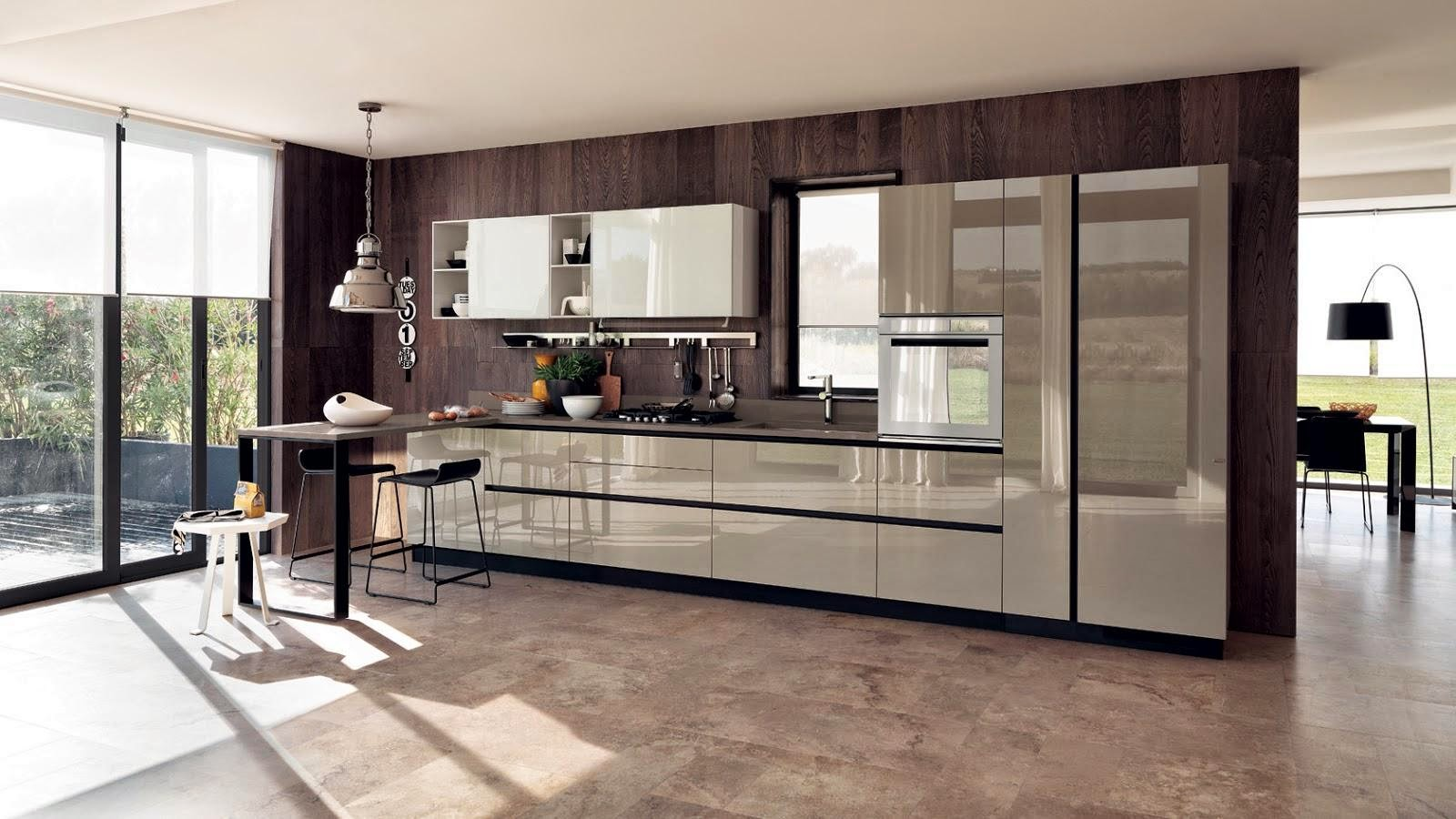 Excelente Interior De La Cocina De Diseño De Decoración Regalo ...