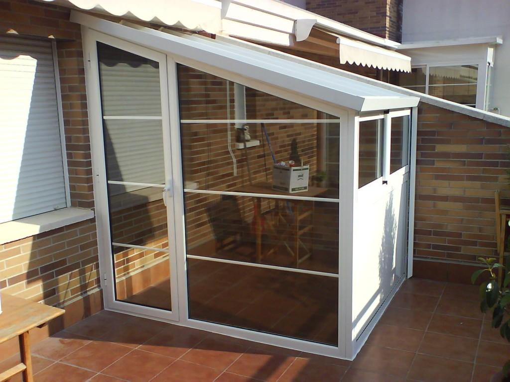 Cerramientos de balcones cerramientos en le n - Puertas para porches ...