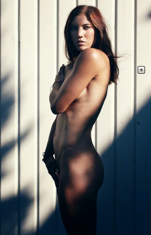 Hope solo nude espn agree, the