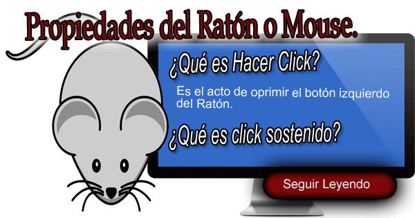 partes del ratón o mouse