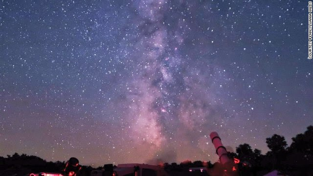 Milky Way Galaxy at Cherry Springs State Park, Pennsylvania.