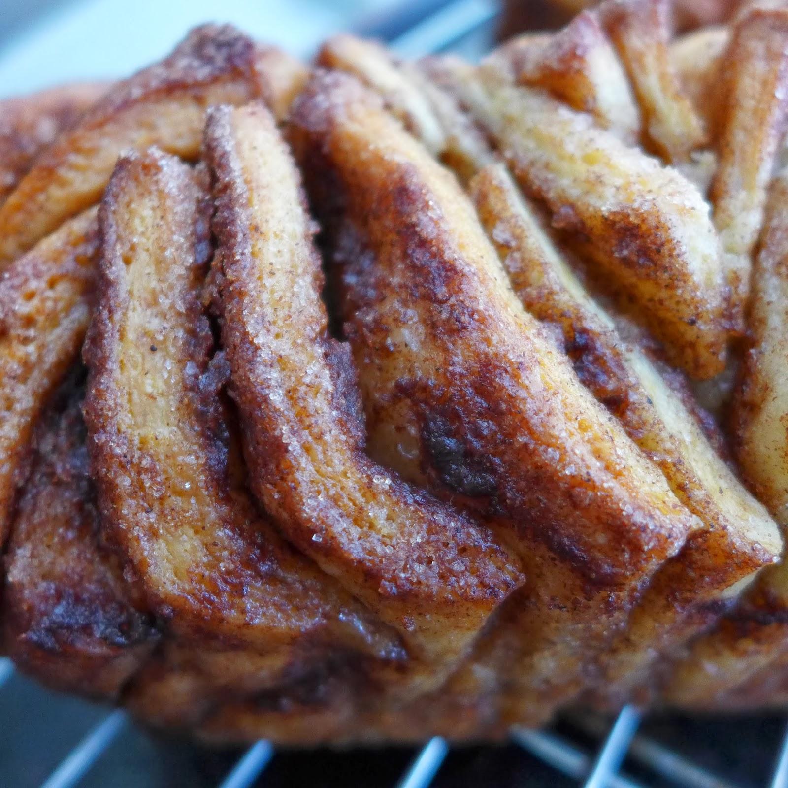 Dough And Batter: Vegan Cinnamon Pull-apart Bread
