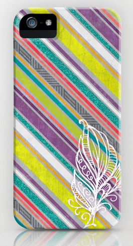 http://society6.com/struthersstudios/feather-stripes_iphone-case#52=377