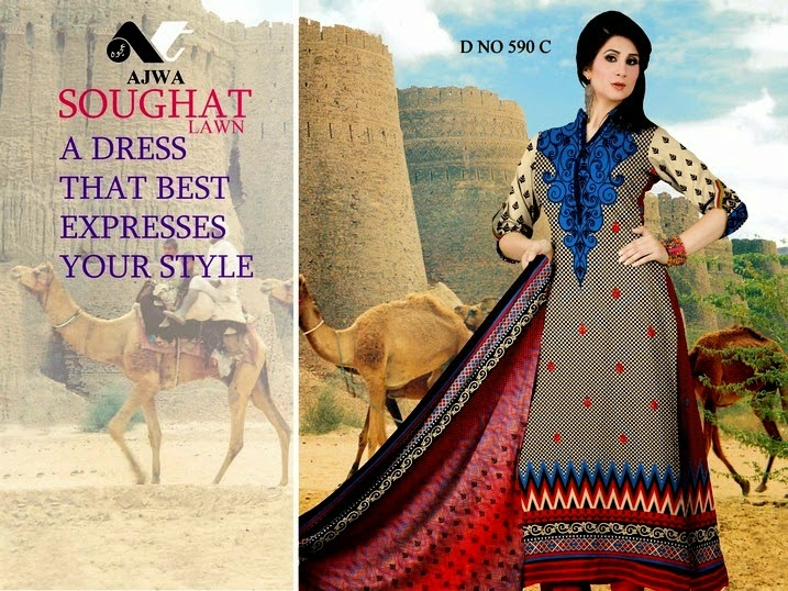 Soughat Pakistani Dresses Collection 2014