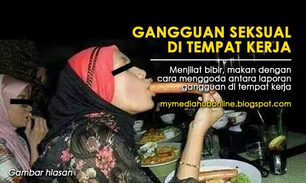 Menjilat Bibir Makan Secara Mengoda Antara Laporan Gangguan Sek sual Di Pejabat