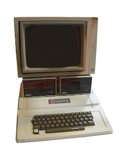 Apple II one of the most popular personal computer back then.
