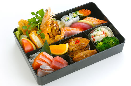 traditional bento box