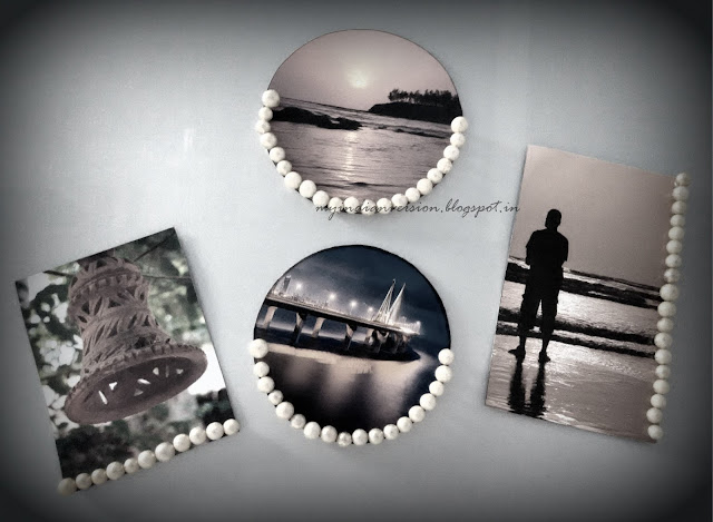 DIY personalized picture magnets