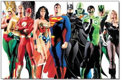 Personagens da Liga da Justiça de tudodepopart.com
