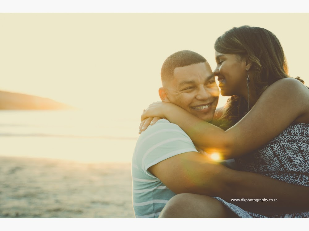 DK Photography LASTWEB-226 Robyn & Angelo's Engagement Shoot on Llandudno Beach { Windhoek to Cape Town }  Cape Town Wedding photographer