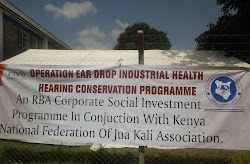 RBA and Jua Kali Sector Banner