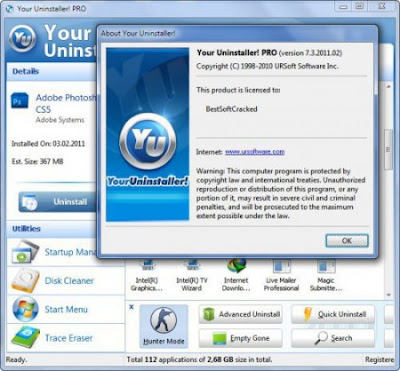 UNI Your Uninstaller! Pro v7.5.2013.02 with Key