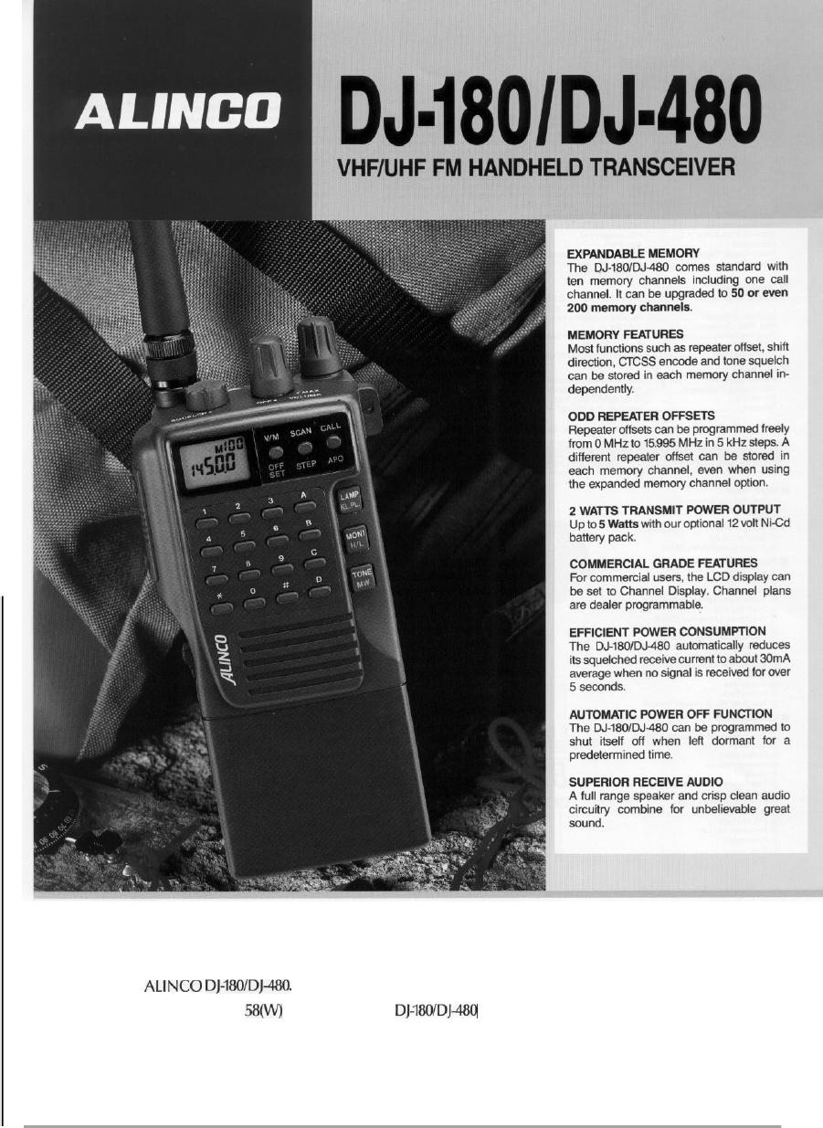 Dunia Radio & Hobi Elektronika: Sarung HT Alinco Dj 180