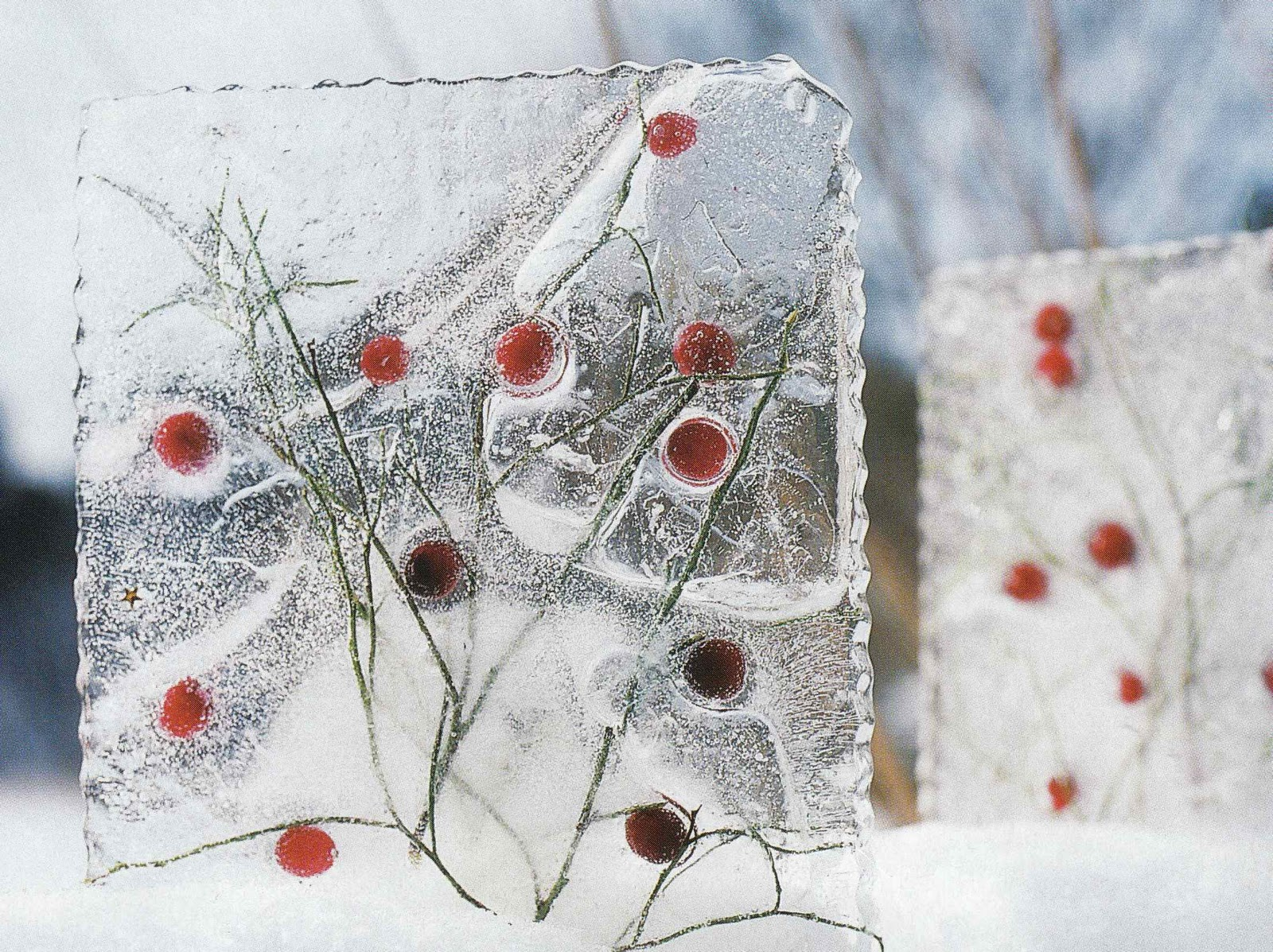 Interior design north crafty christmas creations - Gartendeko winter ...