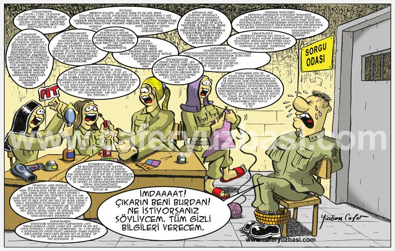 sorgu odasi-Kadinlar Asker Olursa?