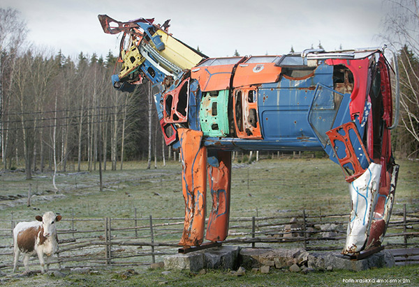 Vaches Cam's... Cows_made_from_car_parts_by_Miina_akkijyrkka_03