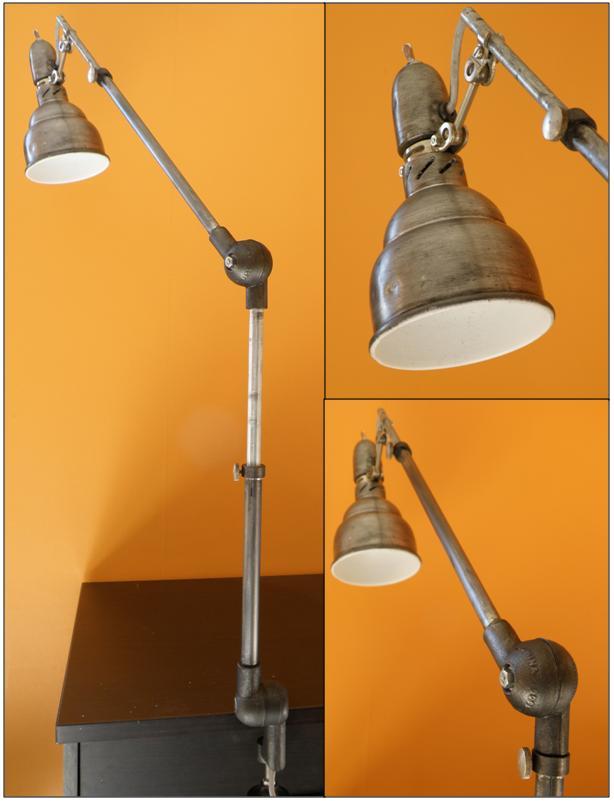 Candelabre Lampe Du Bureau Ou Liseuse Lumina Graphite Vendue