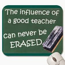 Teachers can never be erased