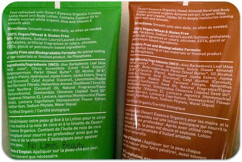 Herb: Dessert Essence Hand and Body Lotion (Almendra y Coco-Lima)