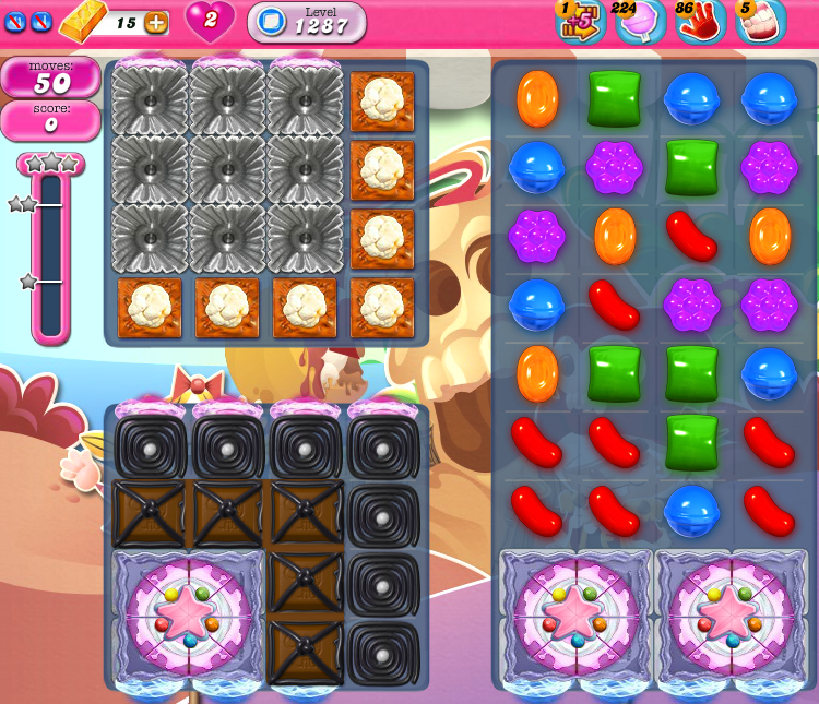 Candy Crush Saga 1287