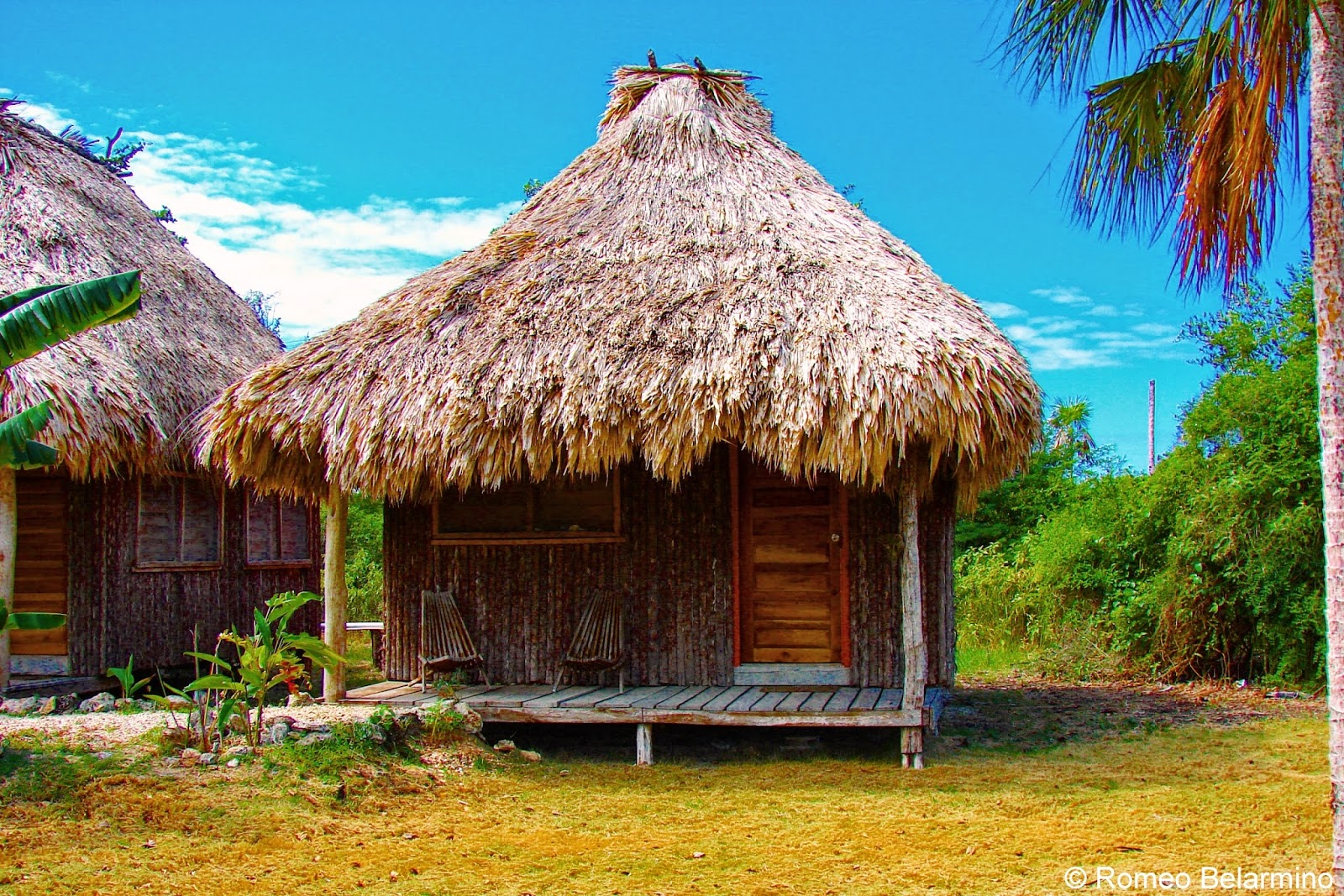 Finding fun and friends at belize s cerros beach resort for Belizean style house plans