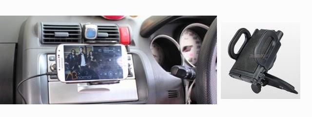 ที่วางโทรศัพท์มือถือในรถ แบบเสียบช่องซีดี