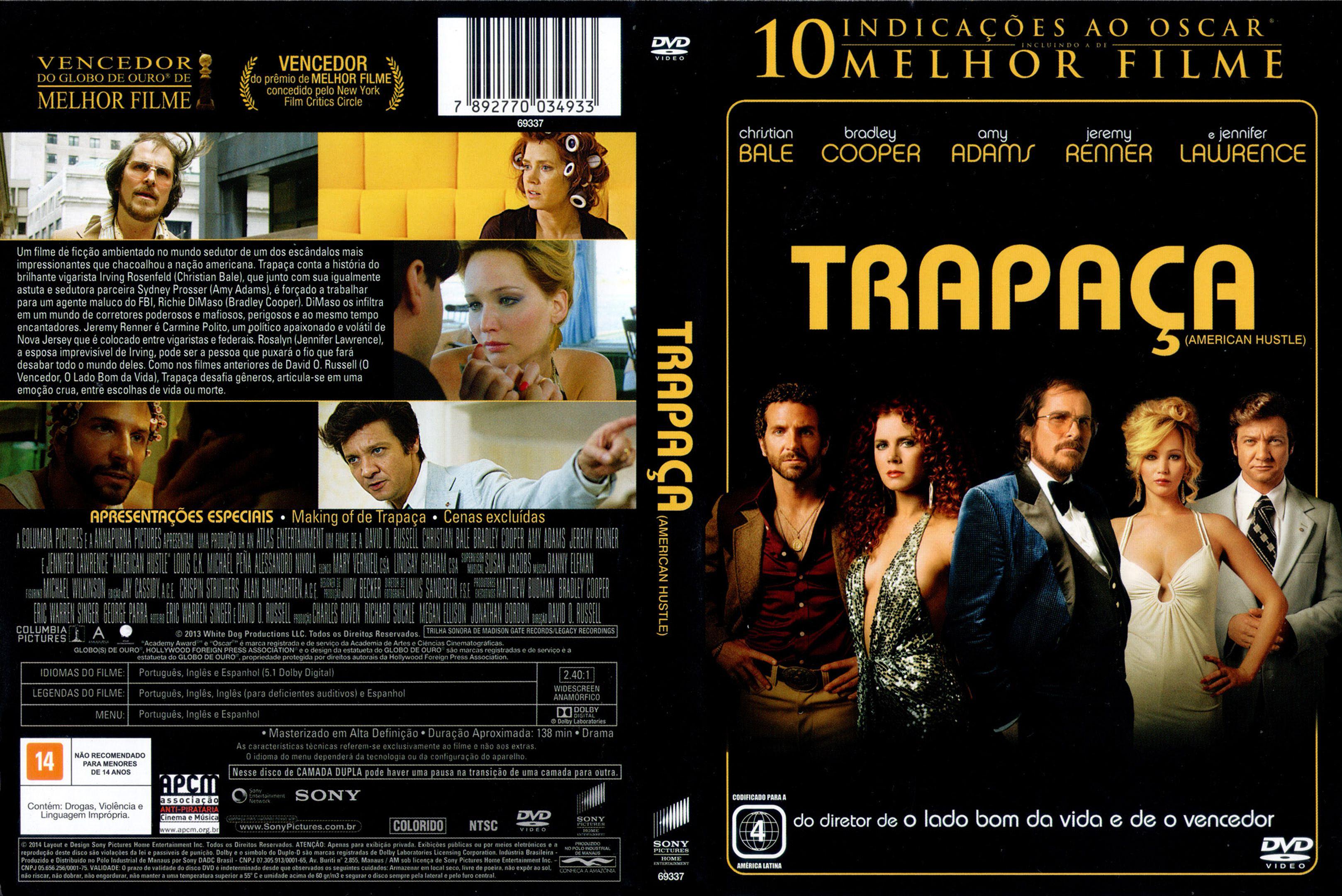 Capa DVD Trapaça