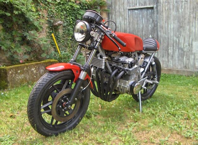 Benelli Sei Cafe Racer | Benelli Cafe Racer | Benelli Sei | Six Cylinder Motorcycles | Benelli 750 Sei