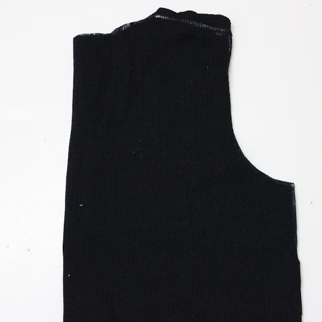 self traced Tshirt Pattern