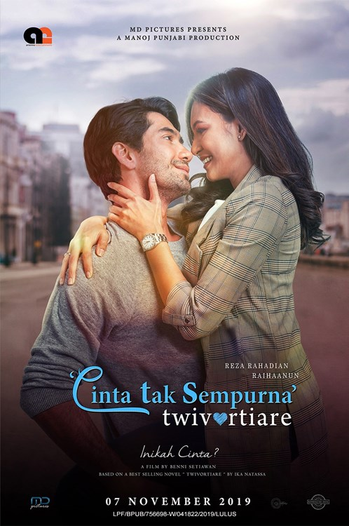 7 NOVEMBER  2019 - TWIVORTIARE: CINTA TAK SEMPURNA (Indonesia)