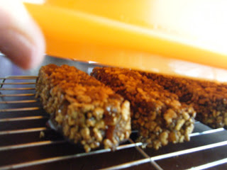 release chocolate iron apricot cereal bars