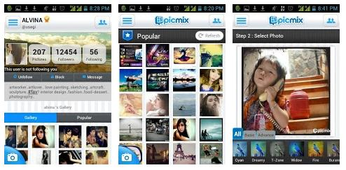 PicMix Aplikasi Berbagi Foto Gratis Buatan Anak Bangsa