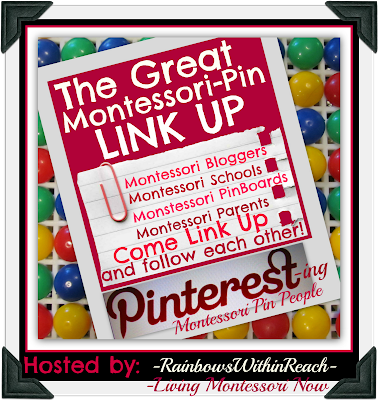 photo of: The Great Montessori Pinterest Directory Hosted by RainbowsWithinReach and Living Montessori Now