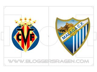 Prediksi Pertandingan Malaga vs Villarreal