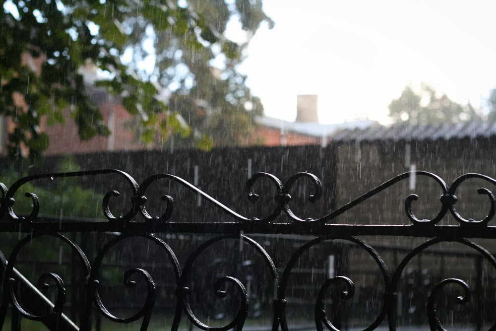 fall autumn rain rainy hail