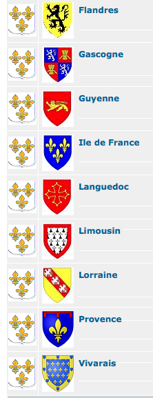 Provinces de France