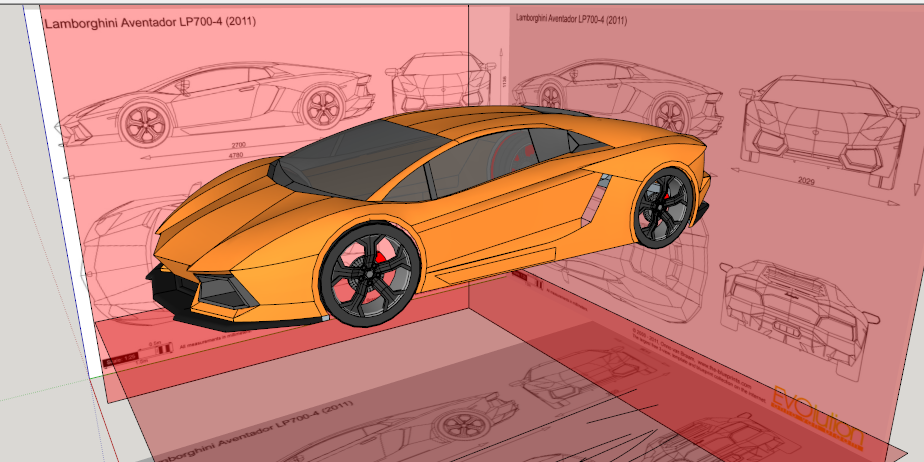 How to make lamborghini aventador on google sketchup google in this tutorial i will show you how to make lamborghini aventador on google sketchup like this picture bellow malvernweather Choice Image