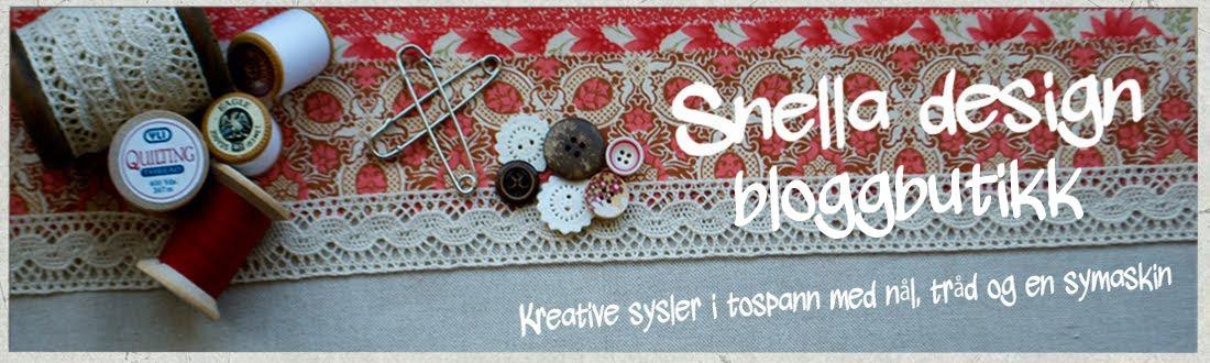 Snella design bloggbutikk