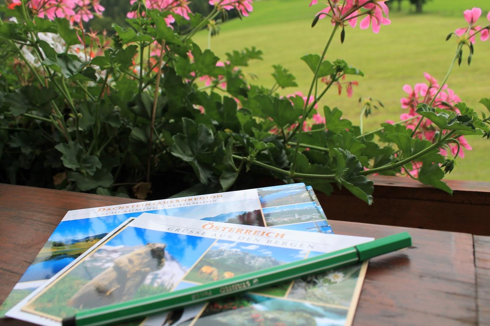 Urlaubsgruesse Postkarten schreiben