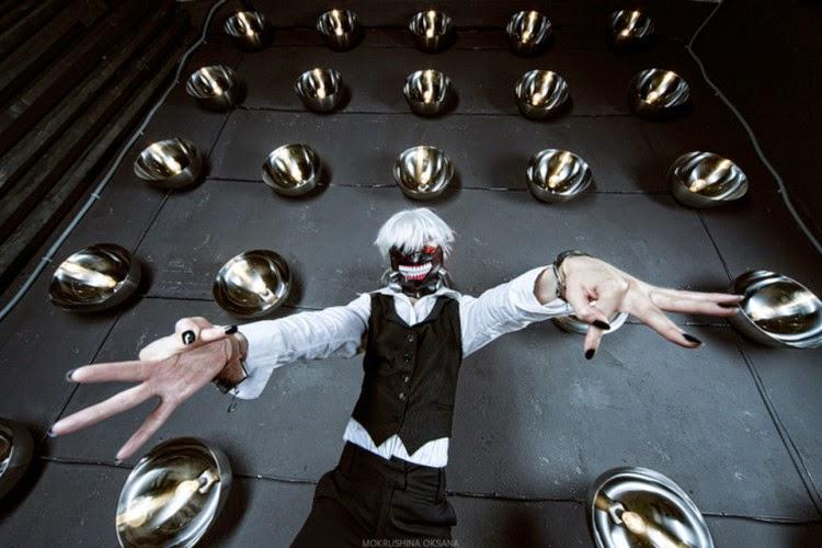 Kumpulan Foto Cosplay Tokyo Ghoul Keren Burung Internet