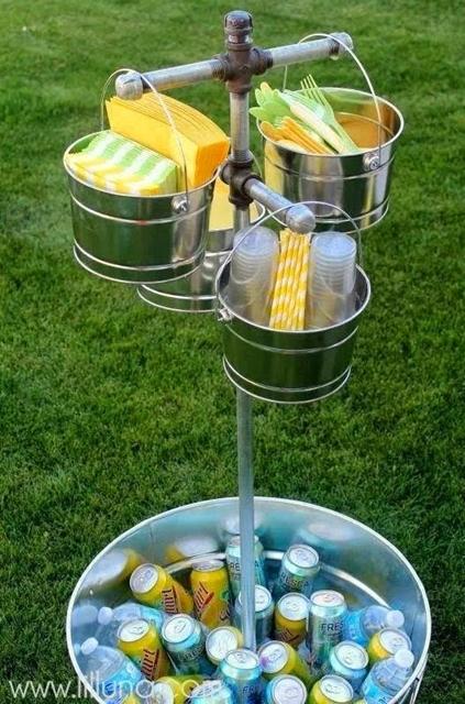 como arrumar talheres e copos nas festas