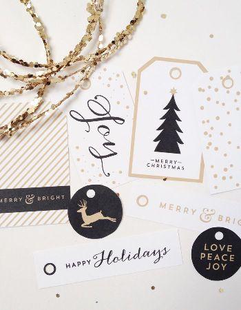tarjetas de Navidad low cost